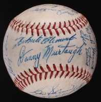 Super Rare & Early Roberto Clemente Sweet Spot Signed 1959 Pirates Team-Signed Baseball with (31) Signatures (JSA ALOA)
