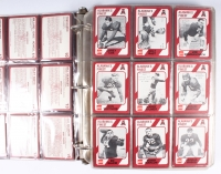 """1989 """"Alabama's Finest"""" Coca-Cola Trading Card Set in Original Binder with (600) Cards Personally Owned by Ken Stabler (Stabler LOA)"""