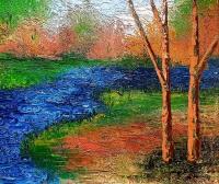 Alexandre Renoir Signed Original Impressionism 28x32 Custom Framed Oil on Canvas (PA LOA)