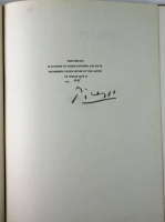 """Pablo Picasso Signed LE """"Picasso"""" Book with Dust Jacket (PSA LOA)"""