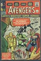 Stan Lee Signed Vintage 1963 'The Avengers' #1 Marvel Comic Book (PSA COA)