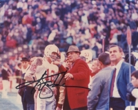 Ken Stabler Signed Alabama 8x10 Photo with Coach Bear Bryant (Stabler LOA)