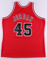 Michael Jordan Signed Bulls 1994-95 Mitchell & Ness Authentic On-Court Jersey (UDA COA)