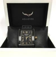 AQUASWISS Tanc G Swiss Made Men's Watch (Black Ionized) (New)