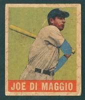 1949 Leaf #1 Joe Dimagio