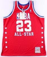Michael Jordan Signed 1989 All-Star Game Jersey (UDA COA)