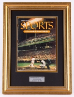 """Sports Illustrated """"First Issue"""" 14x19 Custom Framed Magazine Display"""