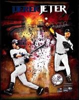 Derek Jeter Signed Yankees 16x20 Photo (MLB & Steiner)