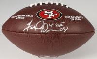 "Fred Dean Signed 49ers Logo Football Inscribed ""HOF 08"" (Schwartz COA)"
