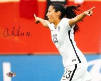 Christen Press Signed Team USA 8x10 Photo (MAB COA)
