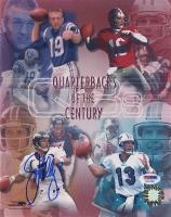 "John Elway Signed Broncos ""Quarterbacks of the Century"" 8x10 Photo (PSA COA)"