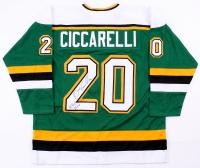 "Dino Ciccarelli Signed North Stars Jersey Inscribed ""H.O.F 2010"" (JSA COA)"