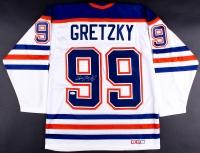 Wayne Gretzky Signed Oilers Jersey (JSA LOA)
