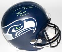 Russell Wilson Signed Seahawks Full-Size Helmet (PSA & Wilson COA)