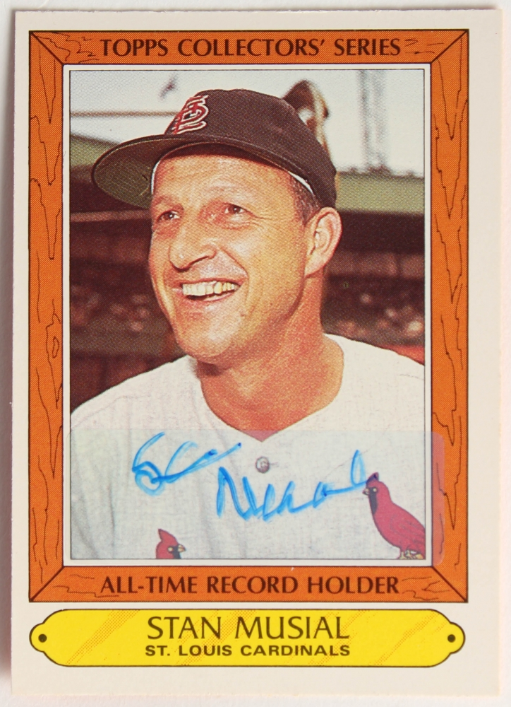 stan the man Baseball great stan musial died over the weekend at the age of 92 he played for  the st louis cardinals for 22 seasons, and is considered one.